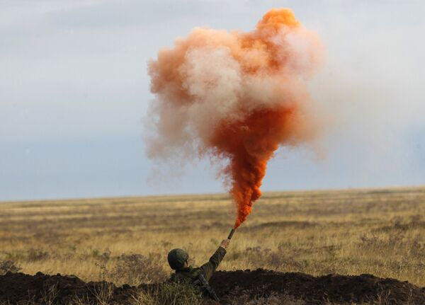 Military exercise at the Kapustin Yar test range - Sputnik International