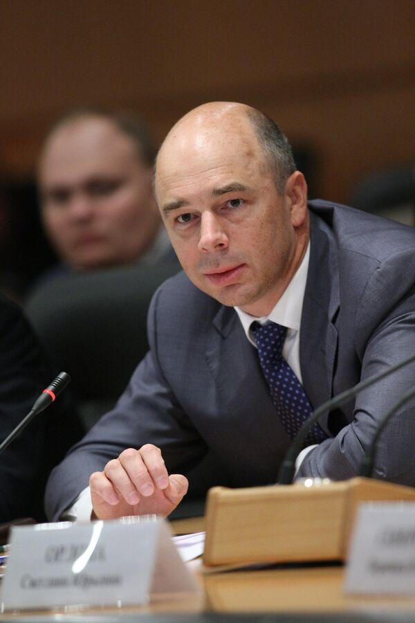 Russia's Finance Minister Anton Siluanov - Sputnik International