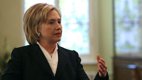 U.S. Secretary of State Hillary Clinton  - Sputnik International