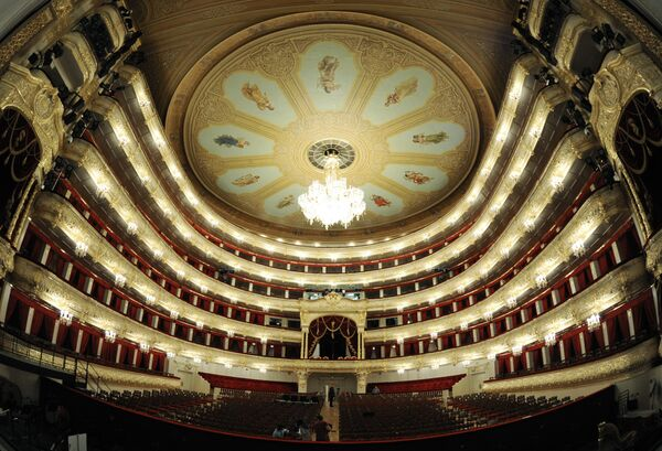 Revamped Bolshoi Theater has busy schedule        - Sputnik International