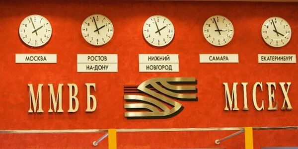 Moscow Interbank Currency Exchange announced that MICEX index had climbed 3.49% and the RTS index rose 5.2%, reflecting hopes for peace in Ukrane. - Sputnik International