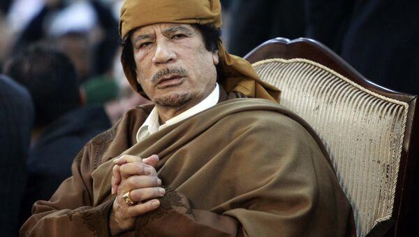 Former Libyan strongman Muammar Gaddafi - Sputnik International