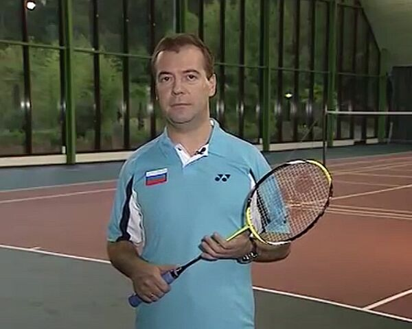 Medvedev attracted international and domestic media attention with a clip on his official blog about the sport - Sputnik International