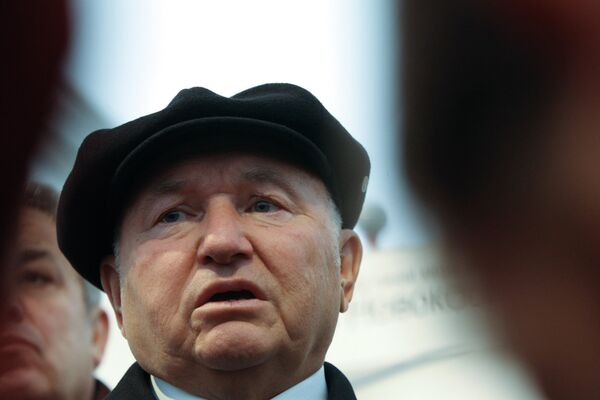 Yury Luzhkov had ruled Moscow for 18 years before he was sacked by President Dmitry Medvedev last September - Sputnik International