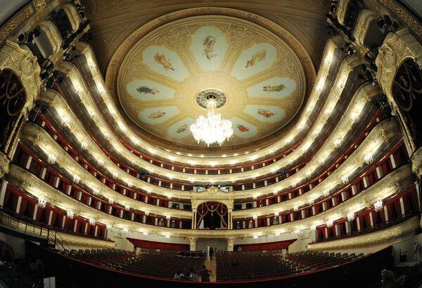 Bolshoi Theater reopens after a six-year renovation. - Sputnik International