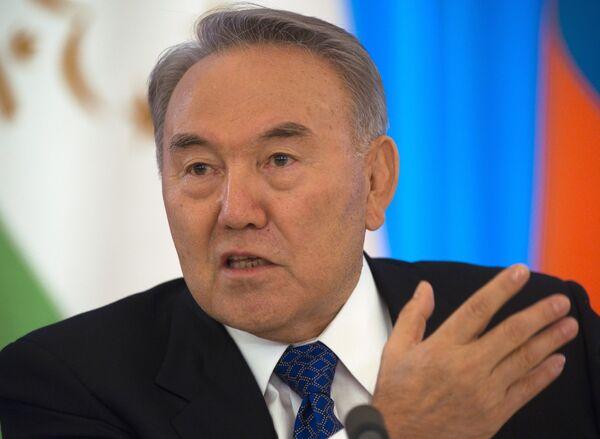Kazakhstan President Nursultan Nazarbayev - Sputnik International