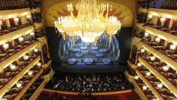 Run-through of Ruslan and Lyudmila opera at the Bolshoi Theater in Moscow - Sputnik International