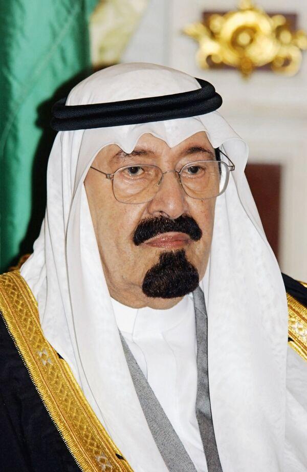The King of Saudi Arabia Abdullah Bin Abdulaziz - Sputnik International