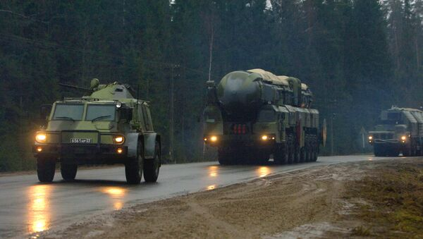 The Topol M missile system - Sputnik International