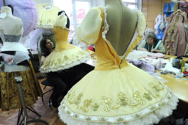 Bolshoi Theater's costume workshops - Sputnik International