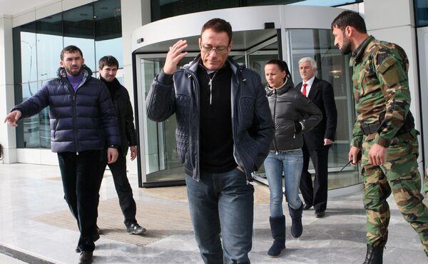 Jean-Claude Van Damme in Chechnya - Sputnik International