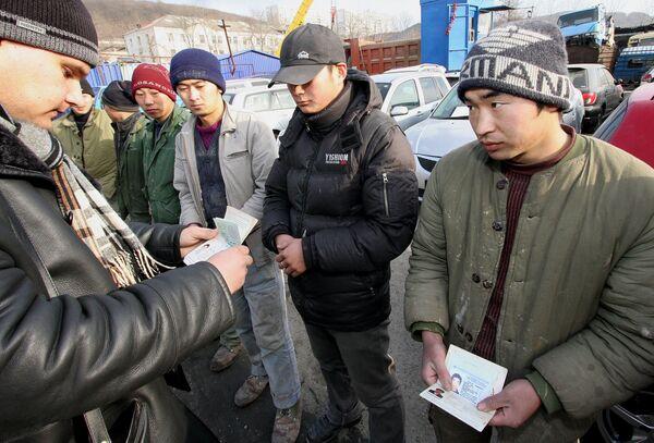 Moscow Region Head Calls for CIS Migrant Visa Regime - Sputnik International