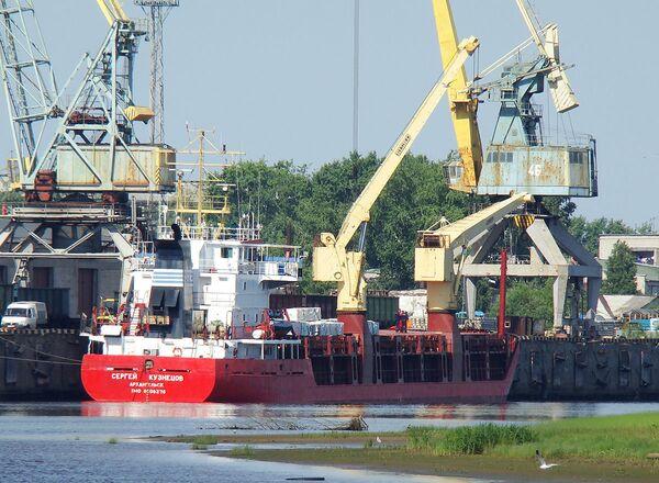 Faulty weather forecast cause of White Sea cargo ship distress - Sputnik International