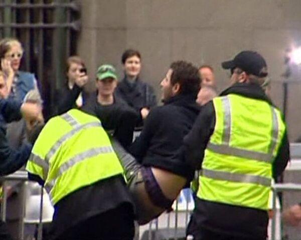 Police raid Occupy Wall Street encampment in New York - Sputnik International