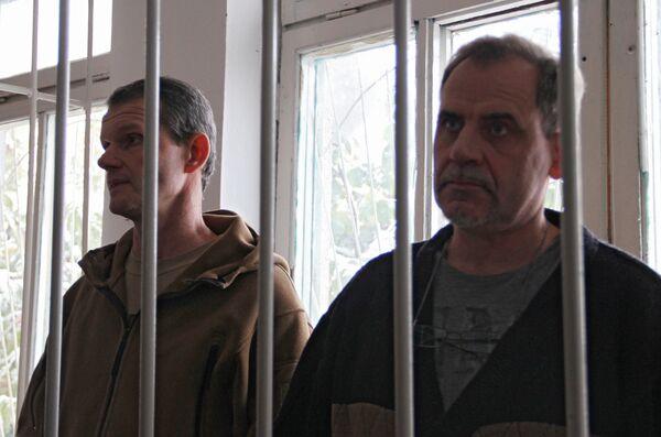 Pilots Vladimir Sadovnichy and Alexei Rudenko - Sputnik International
