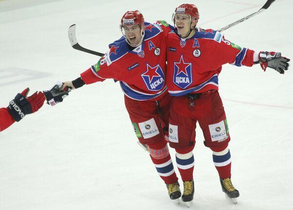 CSKA Moscow hockey club - Sputnik International