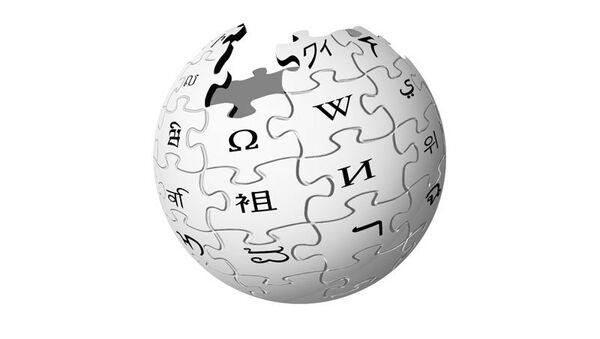 Логотип Wikipedia - Sputnik International