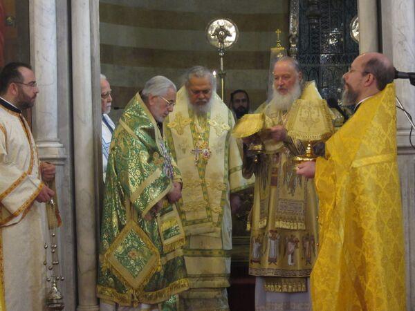 Patriarch of Russia visits Syria, Lebanon - Sputnik International