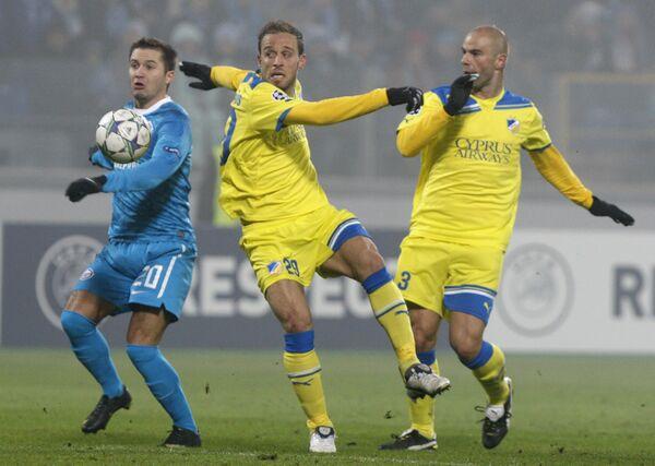 Zenit - APOEL match - Sputnik International