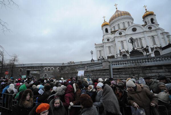 Russian Church Urges Separate Laws for Pilgrims, Tourists - Sputnik International
