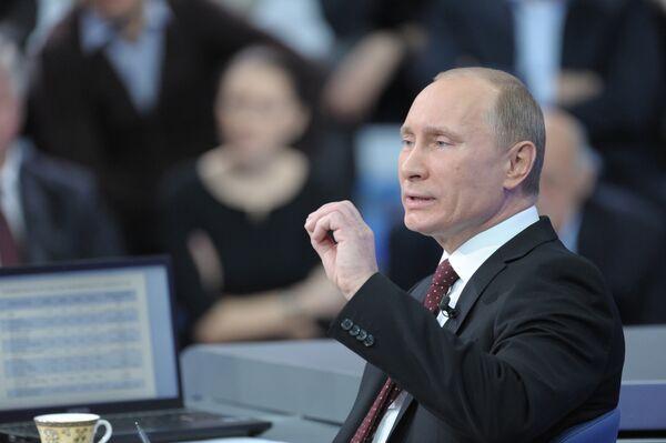 Putin's annual Q&A session - Sputnik International