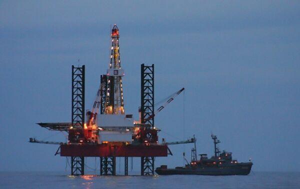 An offshore drilling rig. Archive - Sputnik International