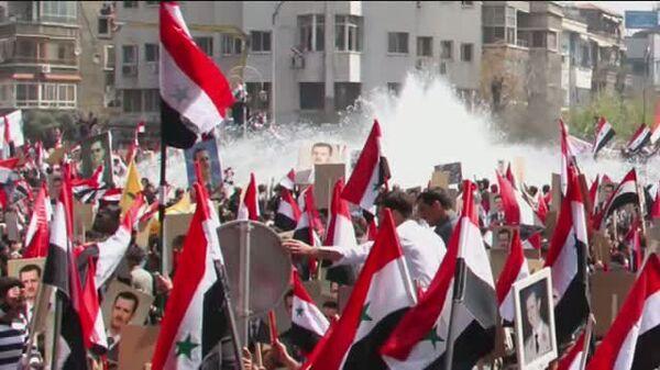 "No ""Libyan scenario"" for Syria  - Sputnik International"