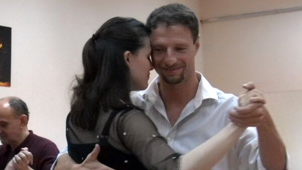 Moscow gripped by passion of Argentine tango  - Sputnik International