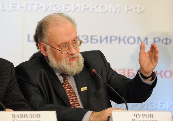 Vladimir Churov - Sputnik International