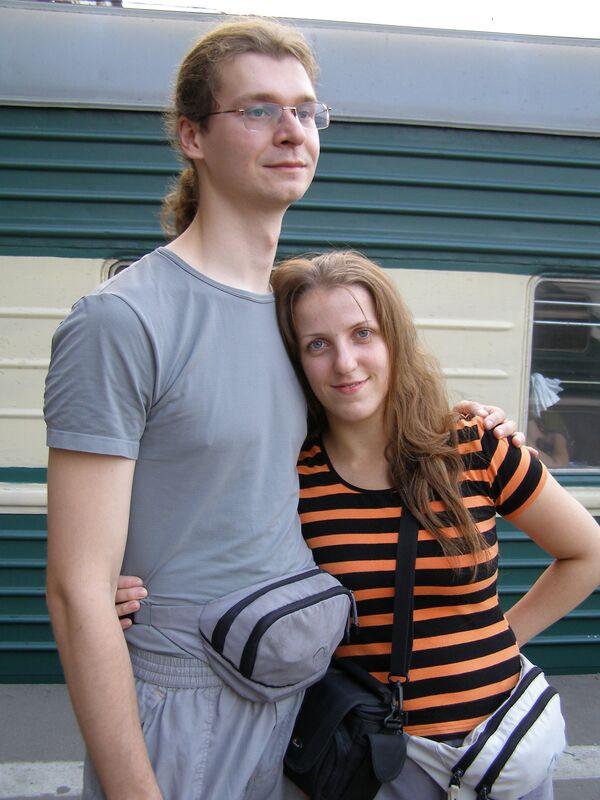 Mikhail and Tatyana Zakharov - Sputnik International