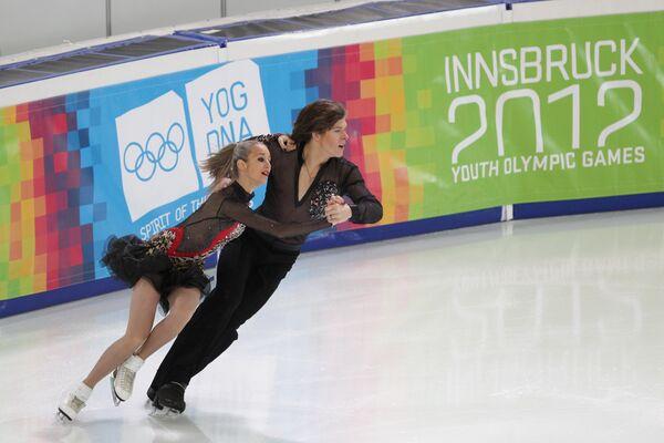 Anna Yanovskaya and Sergei Mozgov - Sputnik International