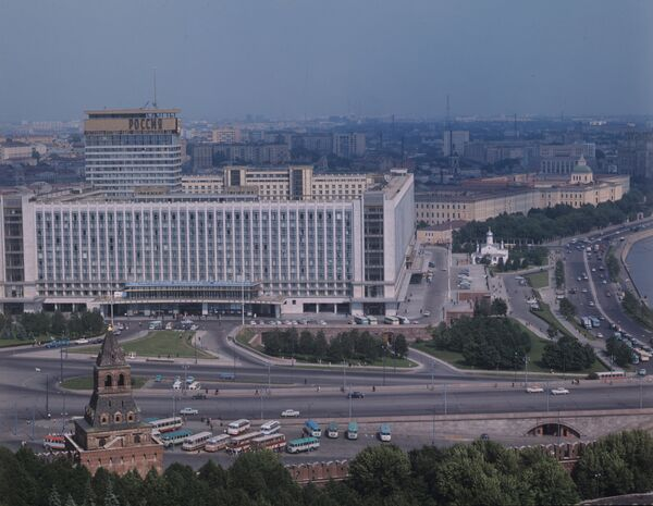 Rossiya was the world's largest hotel when it was built in the late 1960s - Sputnik International