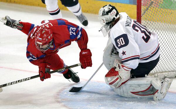 Big Victory Over U.S. Puts Russia in Hockey Final          - Sputnik International