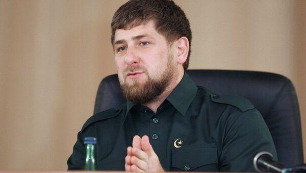 Ramzan Kadyrov - Sputnik International
