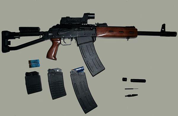 Saiga rifles and shotguns are based on the classic, rugged and reliable Kalashnikov design - Sputnik International