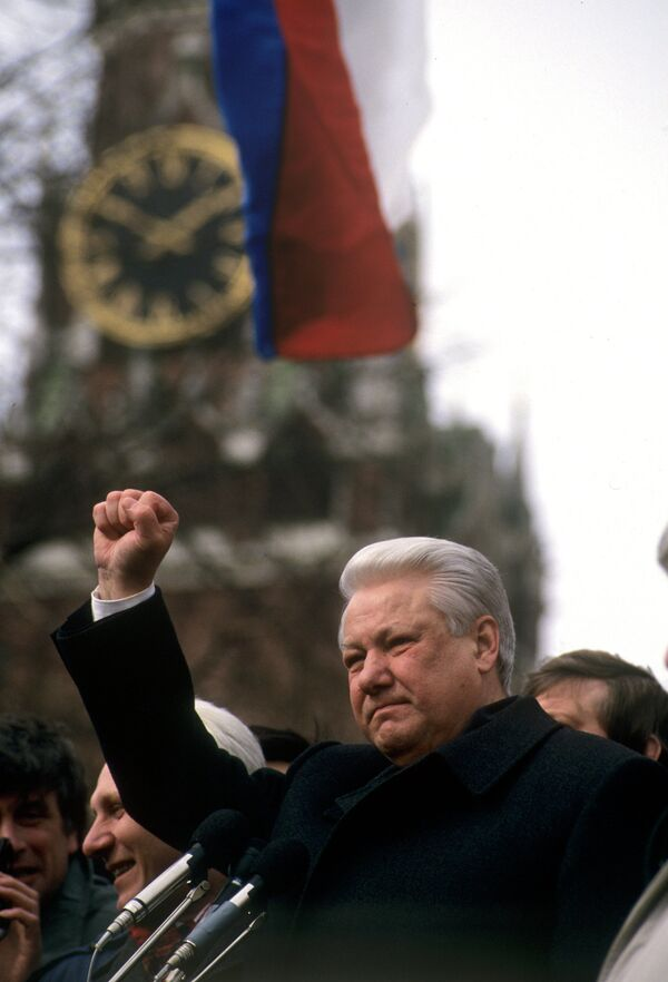 Boris Yeltsin: a big, sincere man - Sputnik International