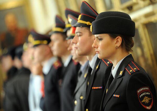 New Russian police uniforms - Sputnik International