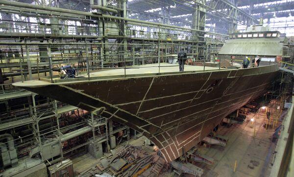 Russia's Severnaya Verf shipyard in St. Petersburg - Sputnik International