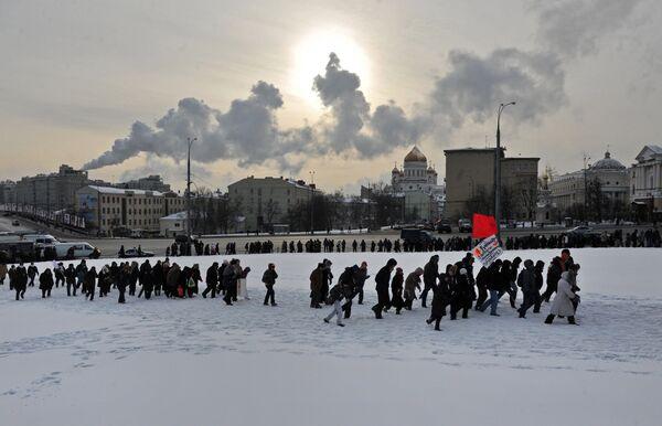 Anti-Putin protests in Moscow - Sputnik International