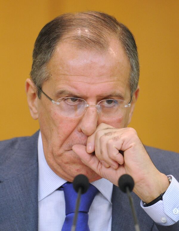 Lavrov said he had on Friday sent Russian amendments to the draft resolution to U.S. State Secretary Hillary Clinton and Russia's envoy to the UN Vitaly Churkin so that all partners could get familiarized with them. - Sputnik International