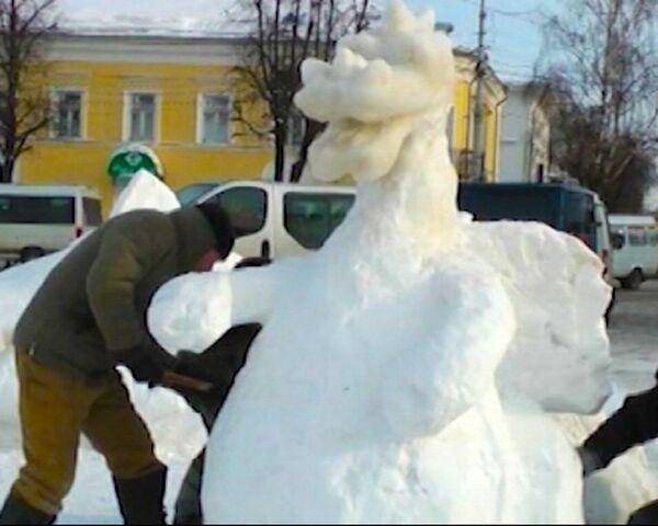 Fairytale Creatures Come to Life in Kostroma - Sputnik International