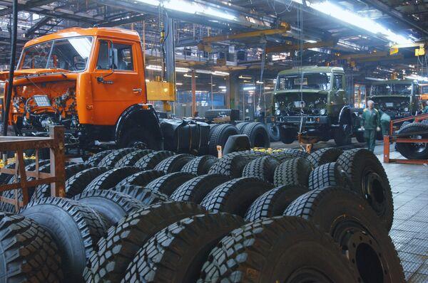 Russian truck maker KamAZ - Sputnik International