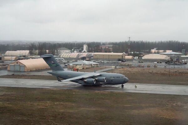 US airbase at Manas international airpor - Sputnik International