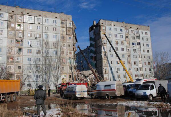 S.Russia Residential Gas Blast Death Toll Rises to 10         - Sputnik International