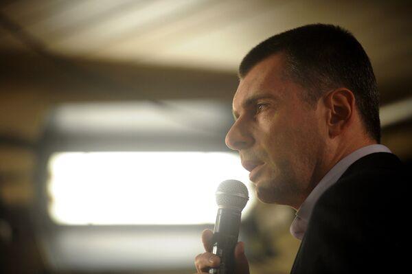 Billionaire presidential candidate Mikhail Prokhorov - Sputnik International