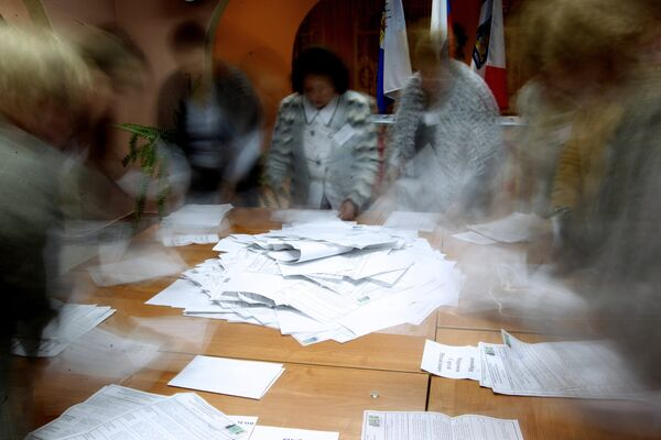 PACE Monitors Shed Light on Russian Elections Final Report - Sputnik International