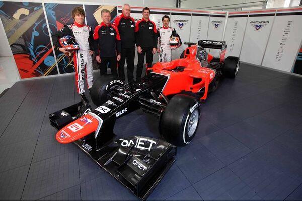 Marussia F1Team - Sputnik International