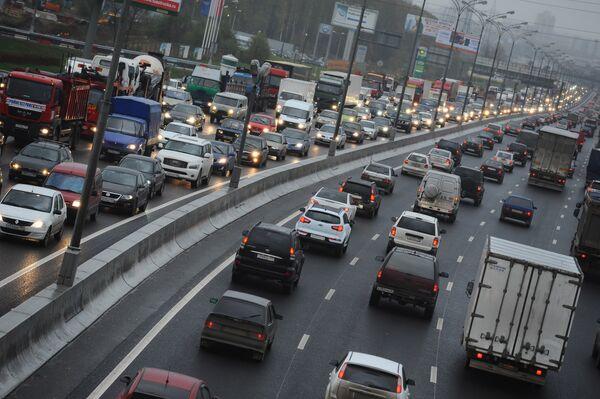 Traffic Jams in Moscow - Sputnik International