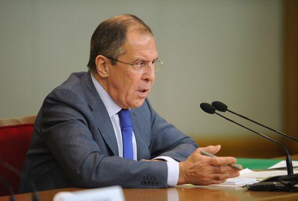 Sergei Lavrov - Sputnik International
