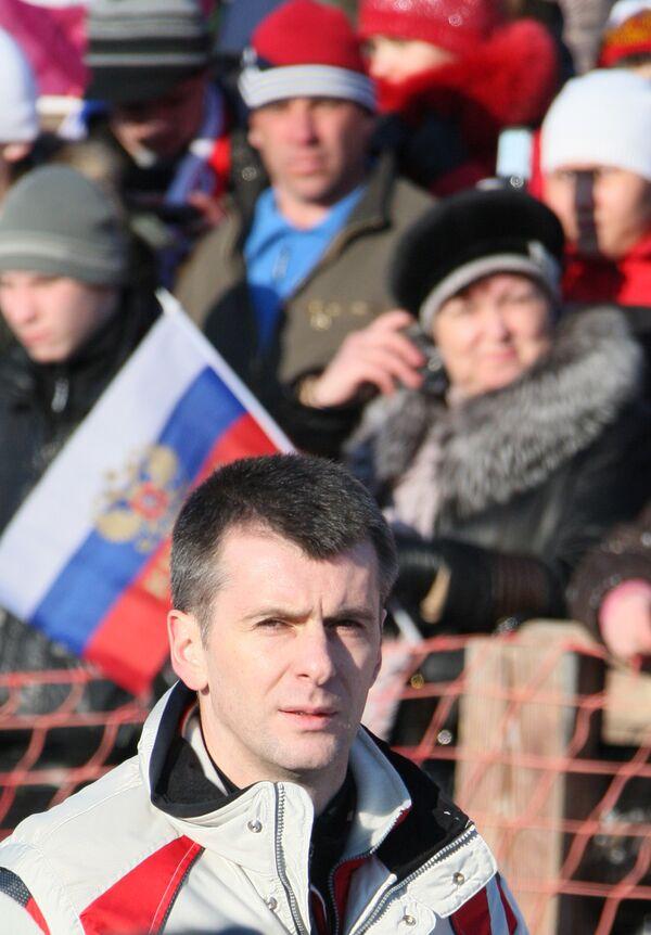 Mikhail Prokhorov - Sputnik International